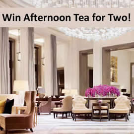 Enter our Mother's Day competition and win Champagne afternoon tea for two!