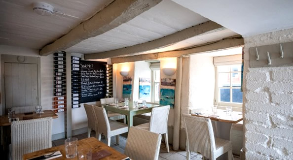 Outlaw's Fish Kitchen, Port Isaac.