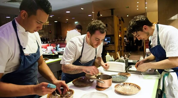 Chef Tom Sellers and his team at Story.