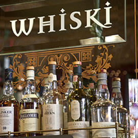 Five of the best places to drink whisky in Edinburgh