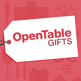 OpenTable Gifts: The perfect gift for foodies