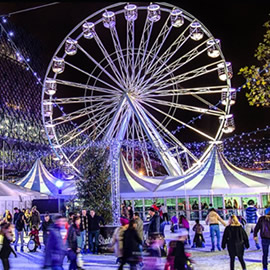 Skate and Dine: The UK's best ice rinks (and where to eat nearby)
