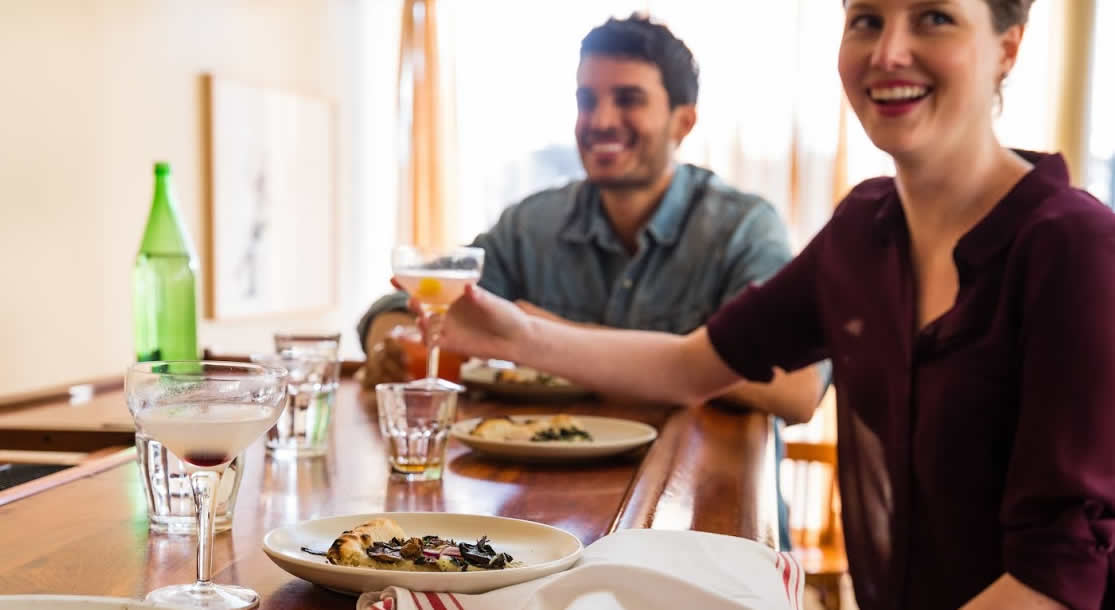 Bar dining on the rise in the UK