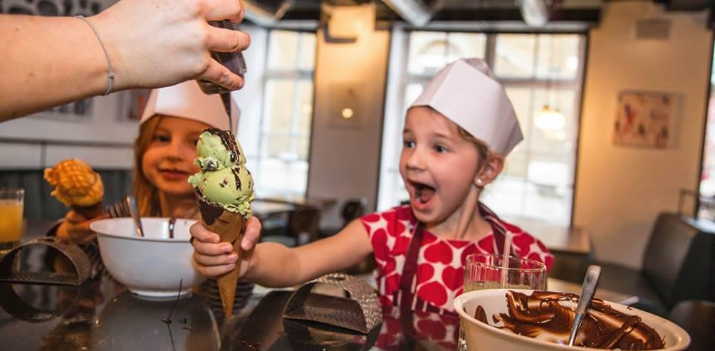 Kid-Friendly: Fine dining with little foodies in London