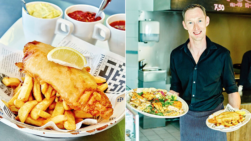 British restaurateurs abroad – how Germans fell in love with fish & chips and cream teas