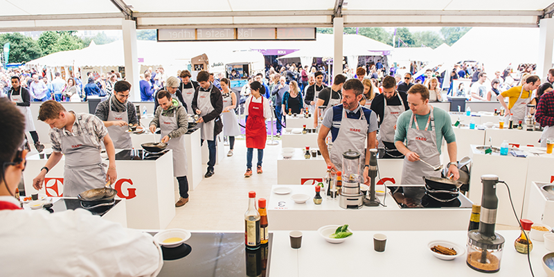 8 of the best UK food festivals to visit in June