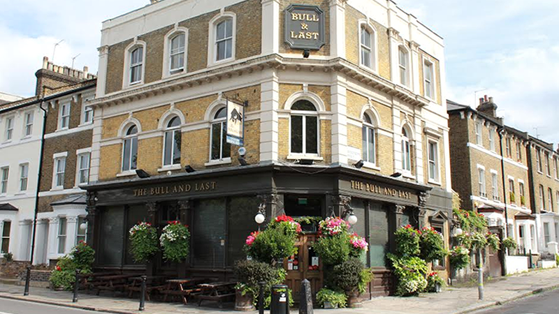 The Bull & Last, Hampstead Heath