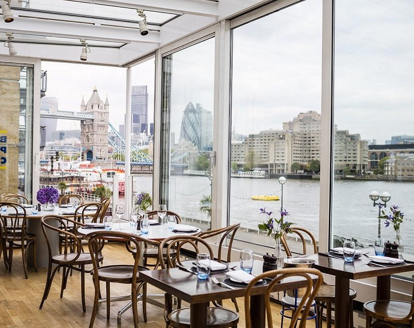 Waterside dining: The best restaurants along the River Thames