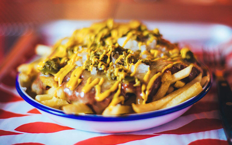 MEATliquor – Chili cheese fries