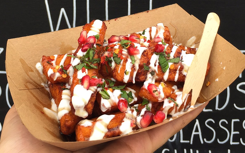 Oli Baba's – Halloumi fries