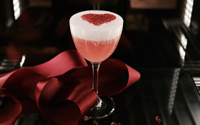 Pretty in pink: Valentine's cocktails to sip with your sweetheart