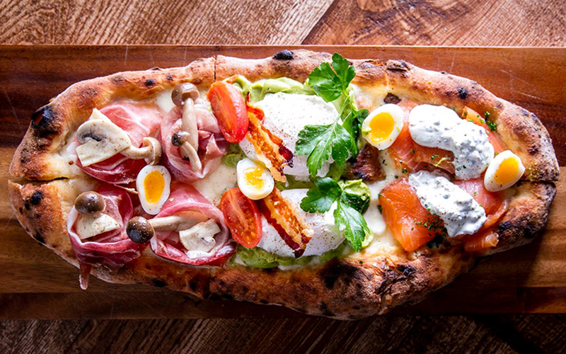 Pizza for breakfast: Where to live the dream in London