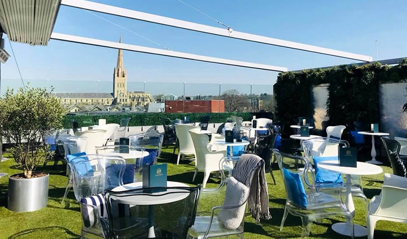 Sun Traps: 9 of the UK's best rooftop bars