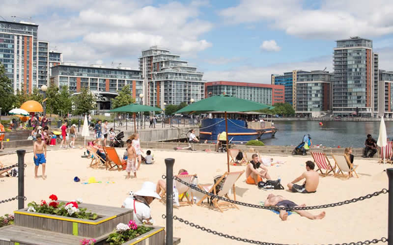 Summer in the city: London's best urban beaches