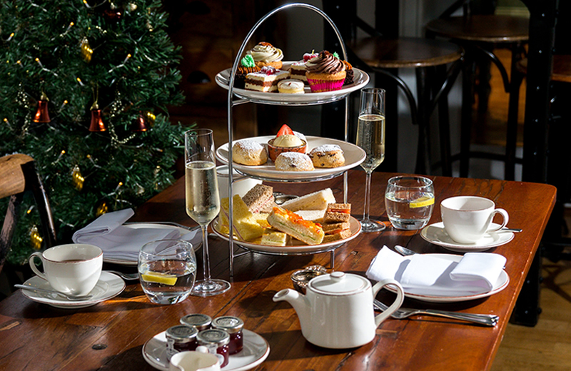 5 of the best festive afternoon teas in London