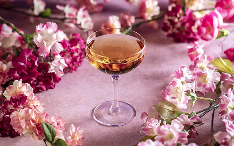 Celebrate cherry blossom season with floral cocktails in London