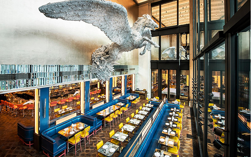 Garments and gourmets: Where to eat at London's top department stores
