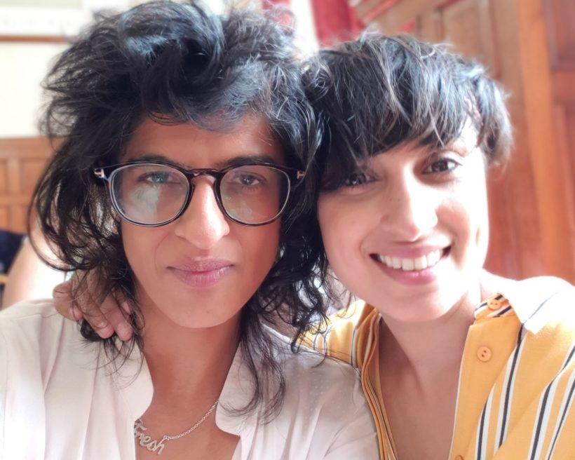 Five minutes with… chapati club's Resh and Heena